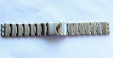 SWATCH STRAP x IRONY CHRONO BLUSTERY - YCS438G - 2003 - NEW - STAINLESS STEEL