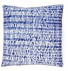 """Tie Dye Shibori Kantha Quilted Cotton Cushion Cover 16"""" Sofa Indian Pillow Cover"""