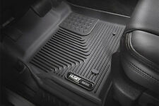Husky X-Act Contour Floor Liners 12-16 Ford Super Duty SuperCrew w/o shifter Blk