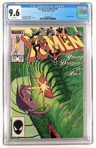 Uncanny X-men # 181 CGC  9.6 - Comic Lot Not 9.8