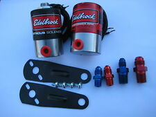 NOS/NITROUS/NX/FORD/CHEVY/DODGE/HOLLEY/ EDELBROCK PRO SOLENOID KIT 400HP *NEW!