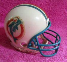 Vintage Riddell NFL Miami Dolphins Old Logo Helmet 2 7/8 1995