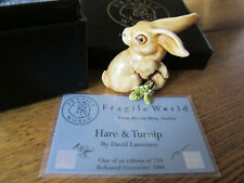 Fragile World Hare & Turnip by David Lawrence, Martin Perry 1 of 250