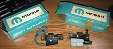 NOS Mopar Rotating Headlight Limit Switches Left / Right 1966 Dodge Charger