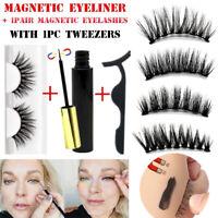 SKONHED  Eyeliner Liquide Magnétique Avec Applicateur et Faux Cils Magnétiques.