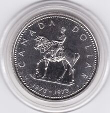 Canada  1973  RCMP  Large  Silver   Dollar   (50%)   Coin