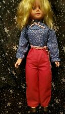 Uneeda 30 Inch Doll Blonde 1976 Vintage Made in Taiwan Fully Clothed