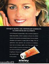 PUBLICITE ADVERTISING 085  1996  SISLEY   les cosmétiques visage GEL NETTOYANT