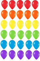 Pride Rainbow Colour Mix of Latex Party Balloons Helium or Air Fill Event Decor