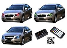 for Chevrolet Cruze 11-15 RGB Multi Color Bluetooth LED Halo kit for Headlights