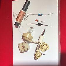 Starter Kit - 3 Wire Coil DIY xtal  Kit - Crystal Radio Set Kit, Survivalist
