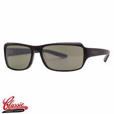 SERENGETI SUNGLASSES 7009  ZINA Charcoal Horn Frame Green Glass CLEARANCE