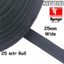 15 mm twill bande ruban ivoire 5 m Rouleau