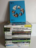 Microsoft Xbox/360 Game Lot 14 games Need for speed Mass effect skylanders READ