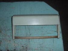 VINTAGE TIN METAL ALUMINUM FOIL WAX PAPER HOLDER MID CENTURY 50s 60s