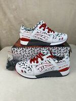 DS Asics Tiger x GI Joe Storm Shadow Gel Lyte III Size 8 White Gray 1191A251-100