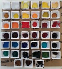 """New Listing Winsor & Newton Professional Watercolor Paint """"Samples"""" 39 Colors"""