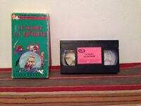 Les aventures de tintin : Le secret de la licorne VHS tape & sleeve FRENCH RARE