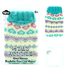 MINI HOTTIE - Reusable Hand Warmer & Knitted Style Hot Water Bottle Holder Xmas