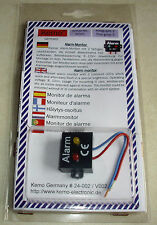 Alarm-Monitor mit 2 farbigen Leuchtdioden / Modul Kemo-Electronic