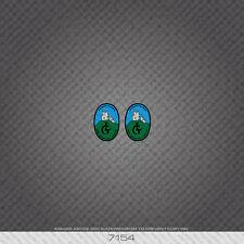 07154 George Longstaff Bicycle Head Badge Stickers - Decals - Transfers