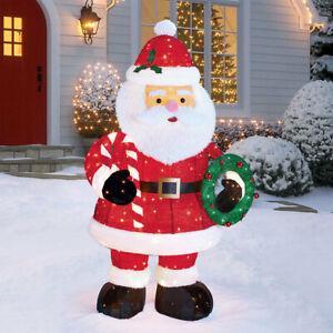 6ft Pop Up Santa Indoor / Outdoor Twinkling Christmas Decoration 280 LED Lights