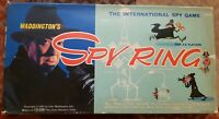 Spy Ring Vintage Board Game By Waddingtons FREE P&P