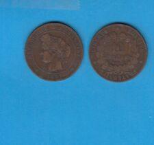 gertbrolen 10 Centimes bronze Type Cérès   1897 Paris Torche  Exemplaire N° 1
