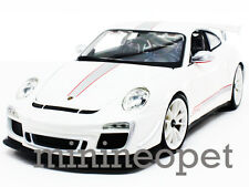 BBURAGO 18-11036 PORSCHE 911 997 GT3 RS 4.0 1/18 DIECAST WHITE
