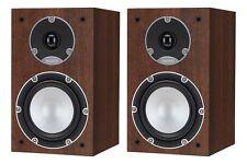 TANNOY Mercury 7.1 Walnut Ultra-Compact Bookshelf Speakers (Pair)