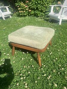 Vintage Ercol Windsor Golden Dawn Footstool Great Condition MCM Retro