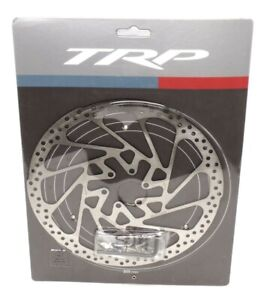 TRP R1 Piece Slotted Mountain Bike Disc Brake Rotor 6-Bolt 203mm