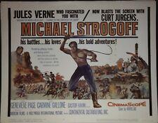 Michael Strogoff Lobby Title Card 1960 Jules Verne
