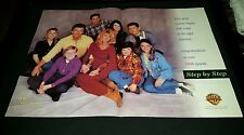 Step By Step Patrick Duffy Suzanne Sommers Rare Original Promo Poster Ad Framed!