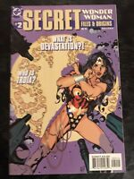 Wonder Woman Secret Files & Origins  #2 (July 1999) Classic Adam Hughes Cover!