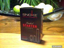 Snoke Menthol Starter Set E-Zigar. ohne Nikotin + Akku + 1x Cap, Zigarette, NEU