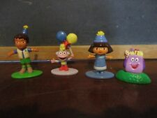 4 pc Dora the explorer Character lot Diego backpack boots balloons blue purple