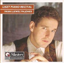 Liszt Piano Recital / Iwan Llewelyn-Jones