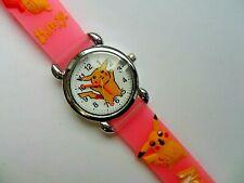 SALE New  Great Kids 3D POKEMON PIKACHU  Silicon // Jelly Watch Pink Strap  b