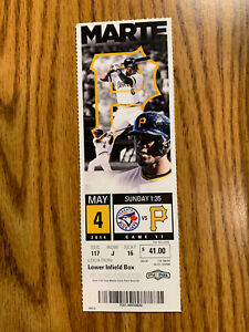 Marcus Stroman MLB DEBUT Full Season Ticket not Stub 5/4/14 Blue Jays Mets Pirat