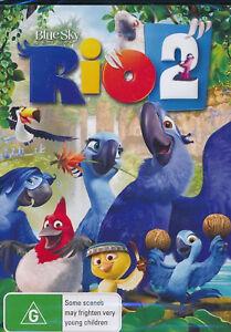 RIO 2 DVD Kids Movie Talking Bird Movie 3D Animation