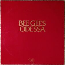 "BEE GEES ""Odessa""  1976 PROMOTIONAL REISSUE LP  Red Cover"