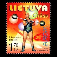 Lithuania 2002 - EUROPA Stamp - The Circus - Sc 722 MNH