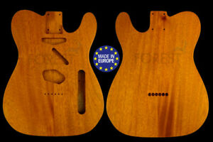 50s tele style electric guitar body 2 pieces honduras mahogany vintage style