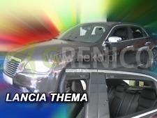 LANCIA THEMA 4-portes 2011-2014 Deflecteurs de vent 4-pièces HEKO Bulles