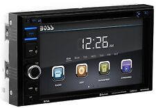 """New Boss Bluetooth 6.2"""" LCD Car Stereo DVD CD MP3 USB/SD Player AUX AM/FM Remote"""