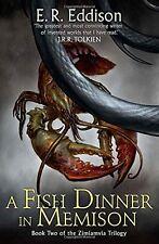 E R EDDISON __ A FISH DINNER IN MEMISON __ SHOP SOILED  __ FREEPOST UK