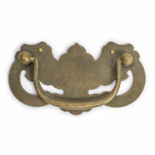 """CBH 2 Chinese BATS Brass Cabinet Pull Hardware Pair 4.1"""""""