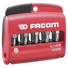 FACOM E.114 11 Pce. SECURITY TORX PLUS SCREWDRIVER BIT SET