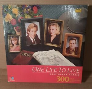 Milton Bradley One Life to Live Soap Opera Jigsaw 300 Piece Puzzle NIB Sealed